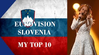 Download Lagu Slovenia in Eurovision - My Top 10 [2000 - 2016] Mp3
