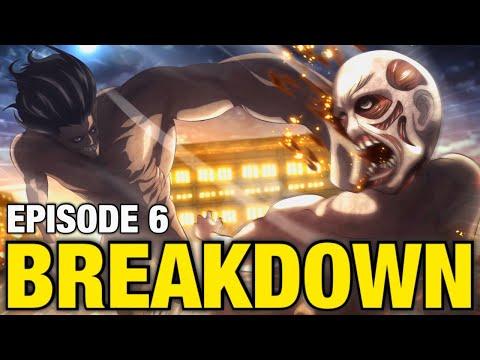 EREN vs The WARHAMMER Titan!! | Attack on Titan Season 4 Episode 6 Breakdown