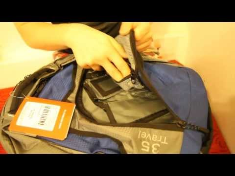 Рюкзак «Трэвел 35». Видеообзор.