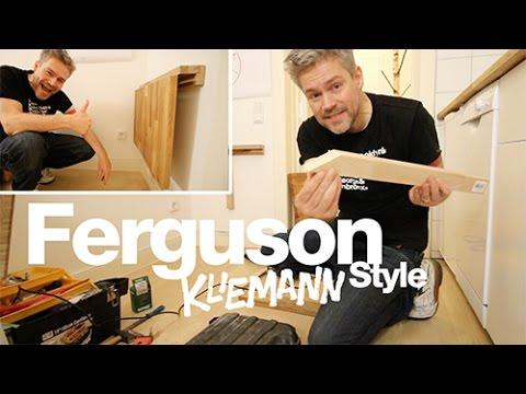 Ferguson Kliemann Style – Wandklapptisch selbstgebaut – Vlog#7