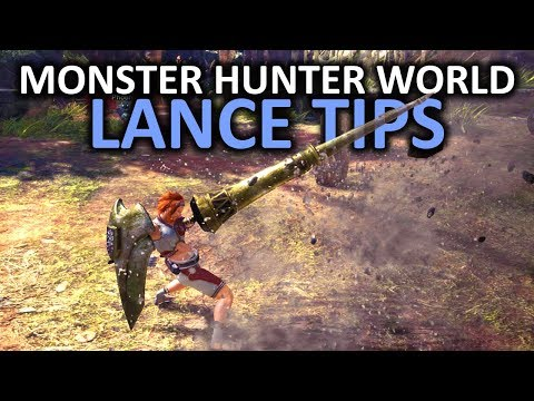 Monster Hunter World Lance Tips