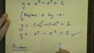 College Algebra - Lecture 7 - Graphs