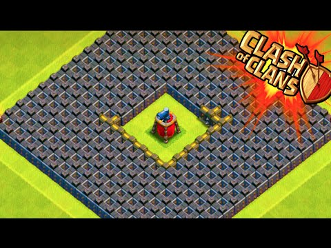 Clash of clans quot the maze base quot weird troll base trolling noobs in