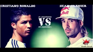 Video Cristiano Ronaldo VS sean garnier street performance MP3, 3GP, MP4, WEBM, AVI, FLV Oktober 2017