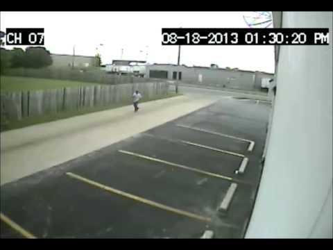 Springfield Police surveillance footage in shooting death