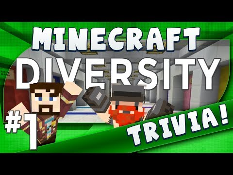 minecraft - Something different today as we do some light-hearted Minecraft Trivia in Diversity - a map with a variety of challenges to enjoy! :D Next episode: Coming We...