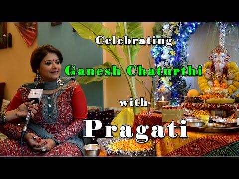 Celebrating #GaneshChaturthi with Pragati
