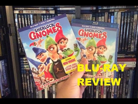 Sherlock Gnomes BLU RAY REVIEW + Unboxing
