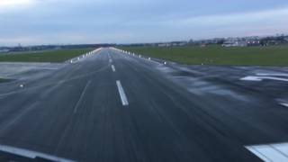 Le Bourget France  City pictures : Boeing 777 Approach and Landing Runway 25 | LeBourget Airport France