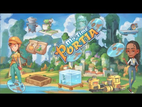 My Time At Portia: Data Discs/Disks And Research