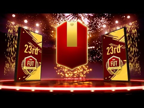 23rd IN THE WORLD FUT CHAMPIONS REWARDS & DIVISON RIVAL REWARDS!!