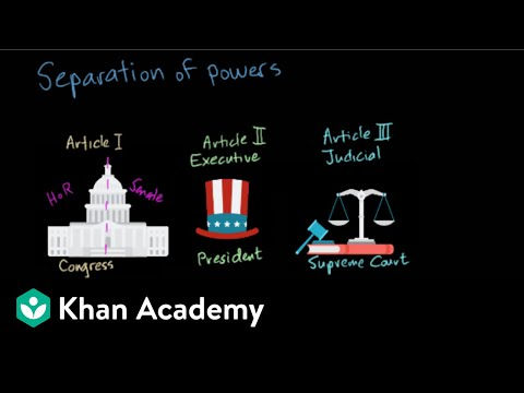 The Us Constitution Video Khan Academy
