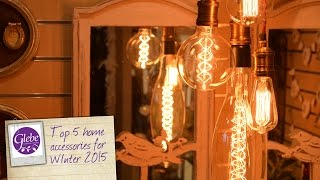 In this video Carolyn & Linda talk you through our top 5 home accessories for Winter 2015.Visit http://www.glebegardencentre.co.uk for more information about Glebe Garden CentreLike us on Facebook - http://www.facebook.com/glebegcFollow us on Twitter - http://www.twitter.com/glebegc+1 us on Google - https://plus.google.com/b/103817263936258828598/+GlebeGardenCentre