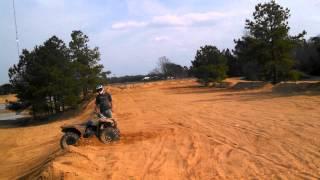 10. Yamaha Wolverine climbing sand hills