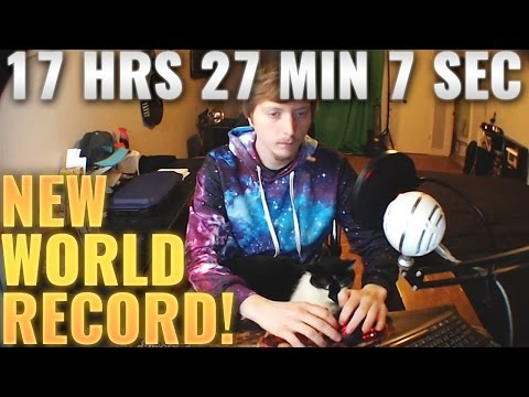 Man Clicking A Mouse 1,000,000 Times For 17 Hours, 27 Minutes, and 7 Seconds STRAIGHT In Attempt To Create A New Speed Record