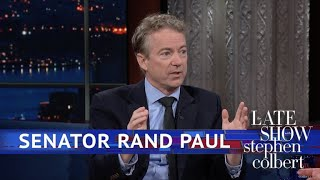 Video Extended Interview: Colbert Talks To Sen. Rand Paul MP3, 3GP, MP4, WEBM, AVI, FLV Januari 2019