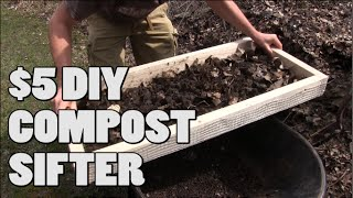 How to Make a $5 DIY Compost Sifter EASY!
