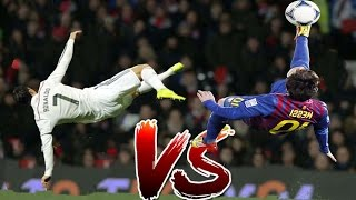 Video Lionel Messi vs Cristiano Ronaldo ● Who is better ? ● Battle Bicycle Kick  ● Best Moments MP3, 3GP, MP4, WEBM, AVI, FLV April 2018