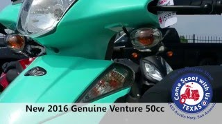 10. 2016 Genuine Venture 50cc scooter for sale