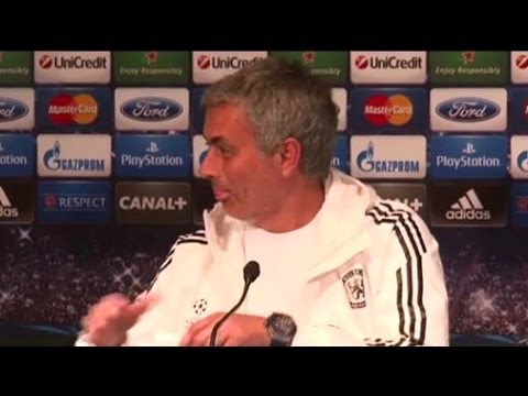 Chelsea manager Jose Mourinho plays prank on reporter on April Fool's Day