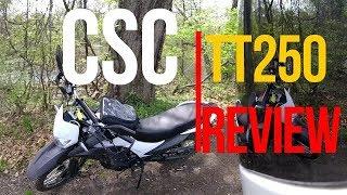 2. CSC TT250 Full review (500 miles)