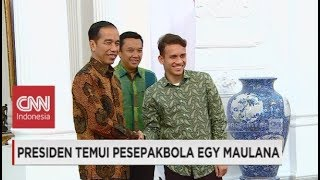 Download Video Presiden Jokowi Temui Egy Maulana Vikri MP3 3GP MP4