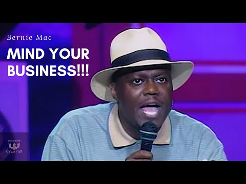 """Bernie Mac """"Mind Your Business"""" Kings of Comedy Tour"""