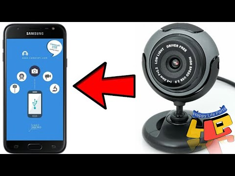 USB WEB CAMERA How To Connect Smartphone To USB Web Camera