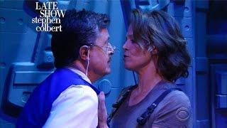 Video Exclusive 'Alien' Trailer With Sigourney Weaver And Stephen Colbert MP3, 3GP, MP4, WEBM, AVI, FLV Mei 2018