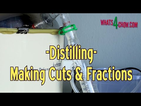 Distilling Alcohol - Making Cuts and Fractions - Learning to Blend Better Alcohol