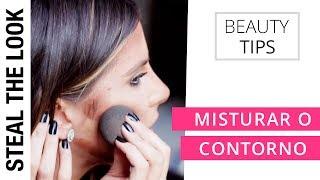 Como Misturar o Contorno no Rosto | Steal The Look Beauty Tips
