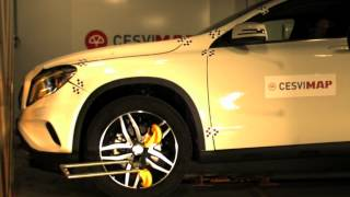 Crash Test Delantero Mercedes GLA 200