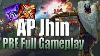 Full game chơi Jhin lên full AP cực mạnh