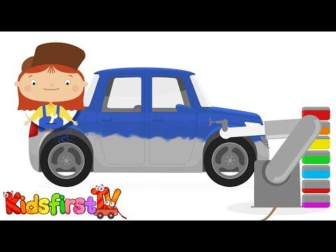 CAR DOCTOR! Kid's Cartoon Car Repairs! – CAR FACTORY Demo – Doc McWheelie's Garage
