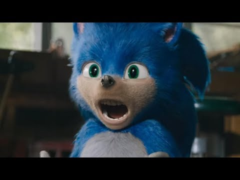 Sonic The Hedgehog Movie Trailer 2019