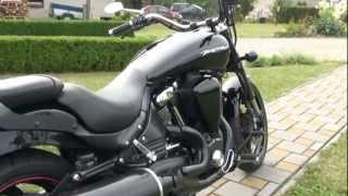 10. Yamaha XV 1700 Midnight Warrior