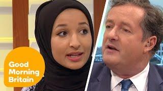 Video Piers Morgan Debates Headscarf Ban With Muslim Women   Good Morning Britain MP3, 3GP, MP4, WEBM, AVI, FLV Desember 2018