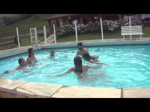 Dancinha do fantástico em Camanducaia P1