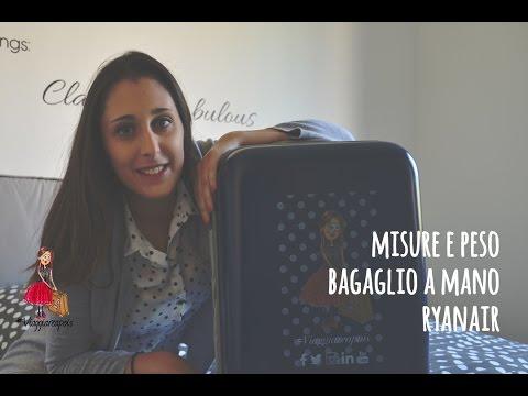#TravelTutorial Misure e peso bagaglio a mano RYANAIR 💼💼 #Viaggiareapois