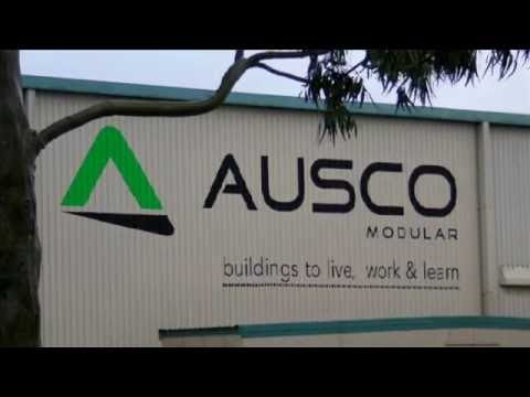 Ausco Modular Manufacturing time lapse video