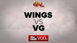 VG vs Wings, game 1