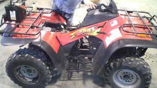 4. LOT 1174A 1998 Arctic Cat 300 4X4 ATV
