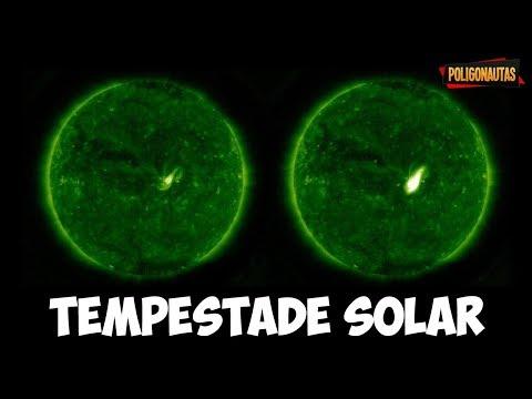 Tempestade Solar Está Prestes a Atingir a Terra - Saiba Tudo Sobre Elas  Fora da Caixa