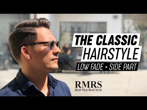 Mens hairstyles - Classic Haircut Tutorial  Business Hairstyle