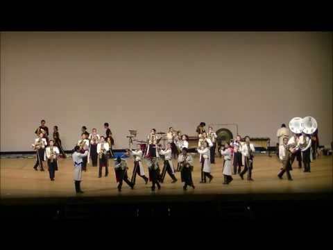 第17回動くコンサート 〜ステージマーチングフェスティバル in INAZAWA 猪子石中学校