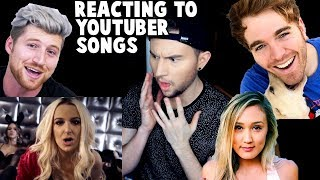Video REACTING TO YOUTUBER SONGS MP3, 3GP, MP4, WEBM, AVI, FLV Januari 2018