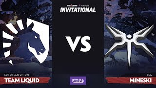 Team Liquid против Mineski, Первая карта, Playoff SL i-League Invitational S4