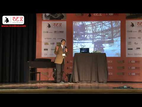 Rex CONCLiVE 2012- Ajeet Bajaj talks on Skiing across Greenlands for social justice.