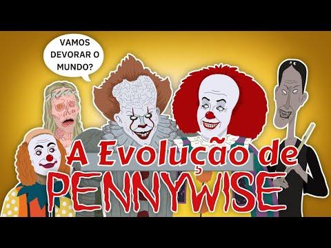 A Evolução de Pennywise - IT a Coisa (animação) Dublado