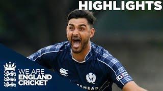 Video Scotland Beat England For The First Time Ever | Scotland v England ODI 2018 - Highlights MP3, 3GP, MP4, WEBM, AVI, FLV Oktober 2018